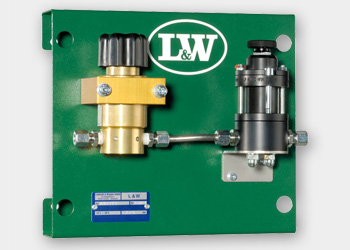 Pressure reducing station with TÜV/ CE safety valve